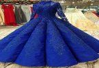 تفسير حلم الفستان الأزرق الطويل