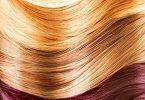 درجات اللون الاصفر في الشعر