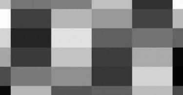 درجات اللون الرصاصي في الملابس