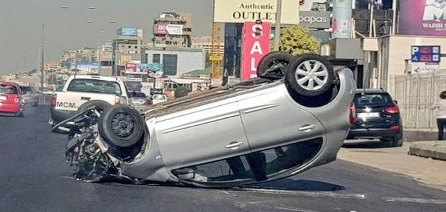 رؤية حادث سيارة لشخص آخر في المنام
