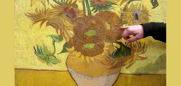 صاحب لوحة عباد الشمس معلومة ثقافية