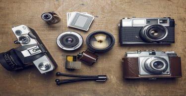 متى تم اختراع الكاميرا؟