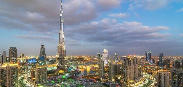 معلومات عن برج خليفة بالعربي