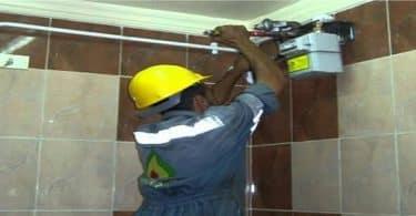 تركيب الغاز الطبيعي للمنازل