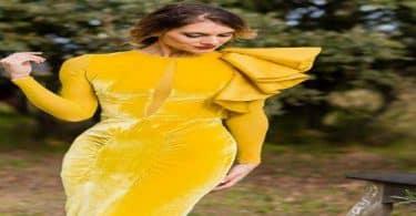 تفسير حلم الفستان الأصفر الطويل