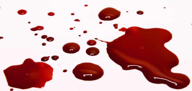 رؤية الدم على الأرض في المنام معلومة ثقافية