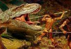 هل عاش الانسان في عصر الديناصورات؟