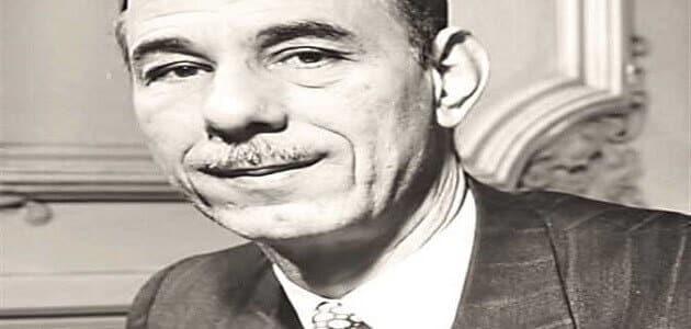 أول أمين للجامعة العربية