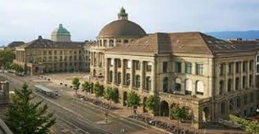 المعهد الفدرالي السويسري للتكنولوجيا في زيورخ وتخصصاته