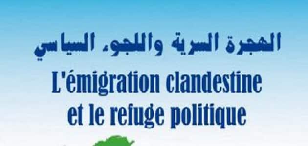 الهجرة السرية واللجوء السياسي