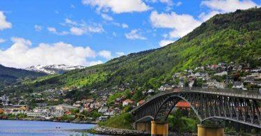 اين تقع النرويج في خريطة العالم؟