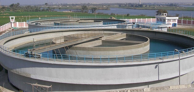 محطات مياه الشرب بالقاهرة