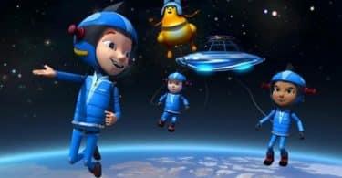 موضوع عن رحلة خيالية إلى الفضاء