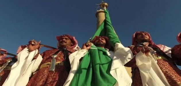 أنواع الفن الشعبي السعودي