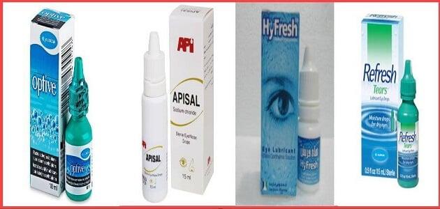 اسم قطرة لعلاج إجهاد العين