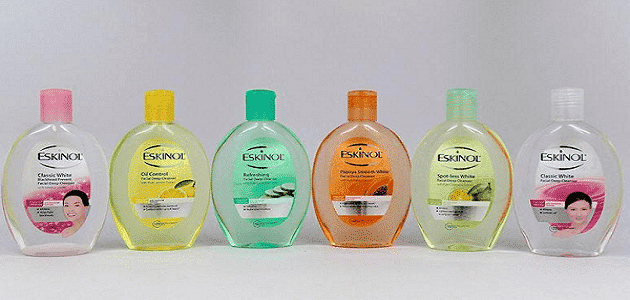 طريقة استخدام الاسكينول لتنظيف البشرة