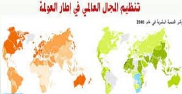 موضوع عن المجال العالمي في إطار العولمة