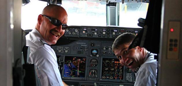 موضوع عن شروط مهنة الطيار