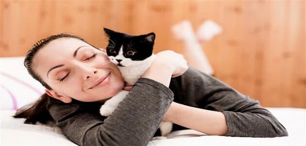 هل القطط تسبب عقم للنساء ؟
