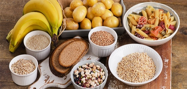 النشويات والكربوهيدرات التي تزيد الوزن
