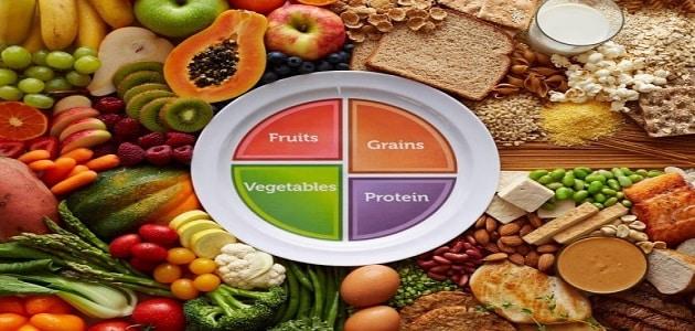 جدول السعرات الحرارية لجميع أنواع الأطعمة