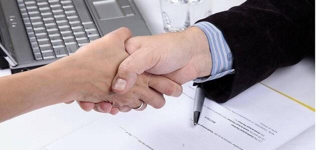 شروط عمل اتفاقية بين صاحب العمل والعامل