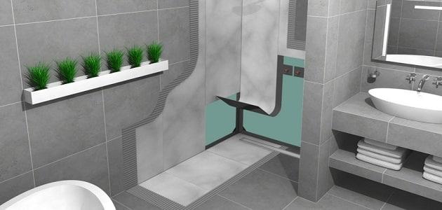 طرق عزل الحمامات بعد السباكة