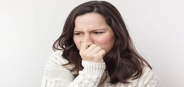 ظهور رائحة كريهة في المهبل في فترة النفاس