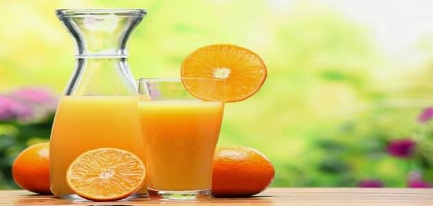 كم عدد السعرات الحرارية في البرتقال؟