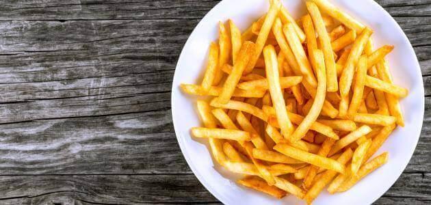 كم عدد السعرات الحرارية في البطاطس بأنواعها