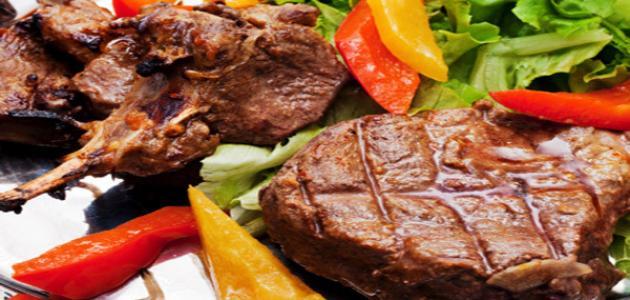 ما السعرات الحرارية في لحم البقر؟