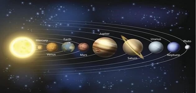هل كواكب المجموعة الشمسية كلها ذات شكل كروي