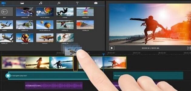 تحميل أسهل برنامج مونتاج فيديو احترافي مجاني للكمبيوتر للمبتدئين