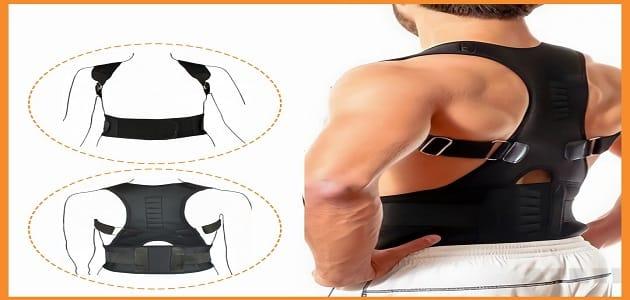 فوائد مشد الظهر المغناطيسي لعلاج تقوس وانحناء الظهر