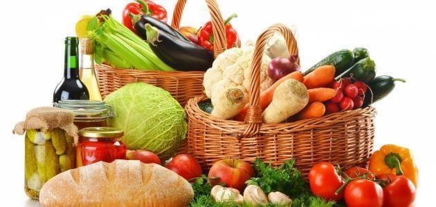أهمية التغذية عند الإنسان