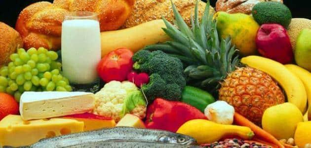 مقدمة عن الغذاء الصحي والغير صحي