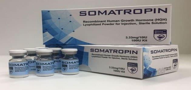 دواعي استخدام سوماتروبين وآثاره الجانبية