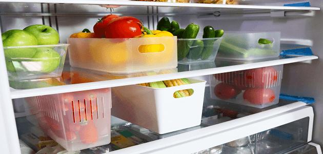 أسهل طريقة لترتيب الثلاجة وتنظيفها