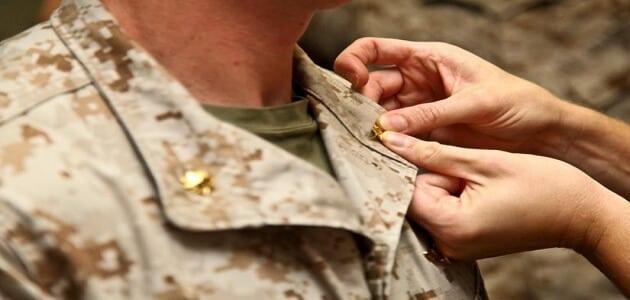 عبارات وشعر تهنئة بالترقية العسكرية